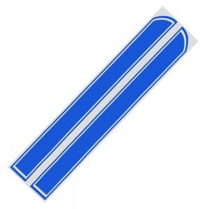 deco-pour-voiture-rallye-bande-bleue