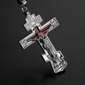 pendentif-jesus-sur-fond-rouge-vue-de-profil