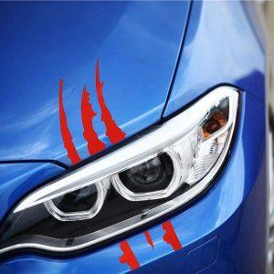 stickers_de_voiture_original_griffure_de_monstre_sur_voiture_bleue