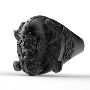 bague-roi-viking-vue-de-profil